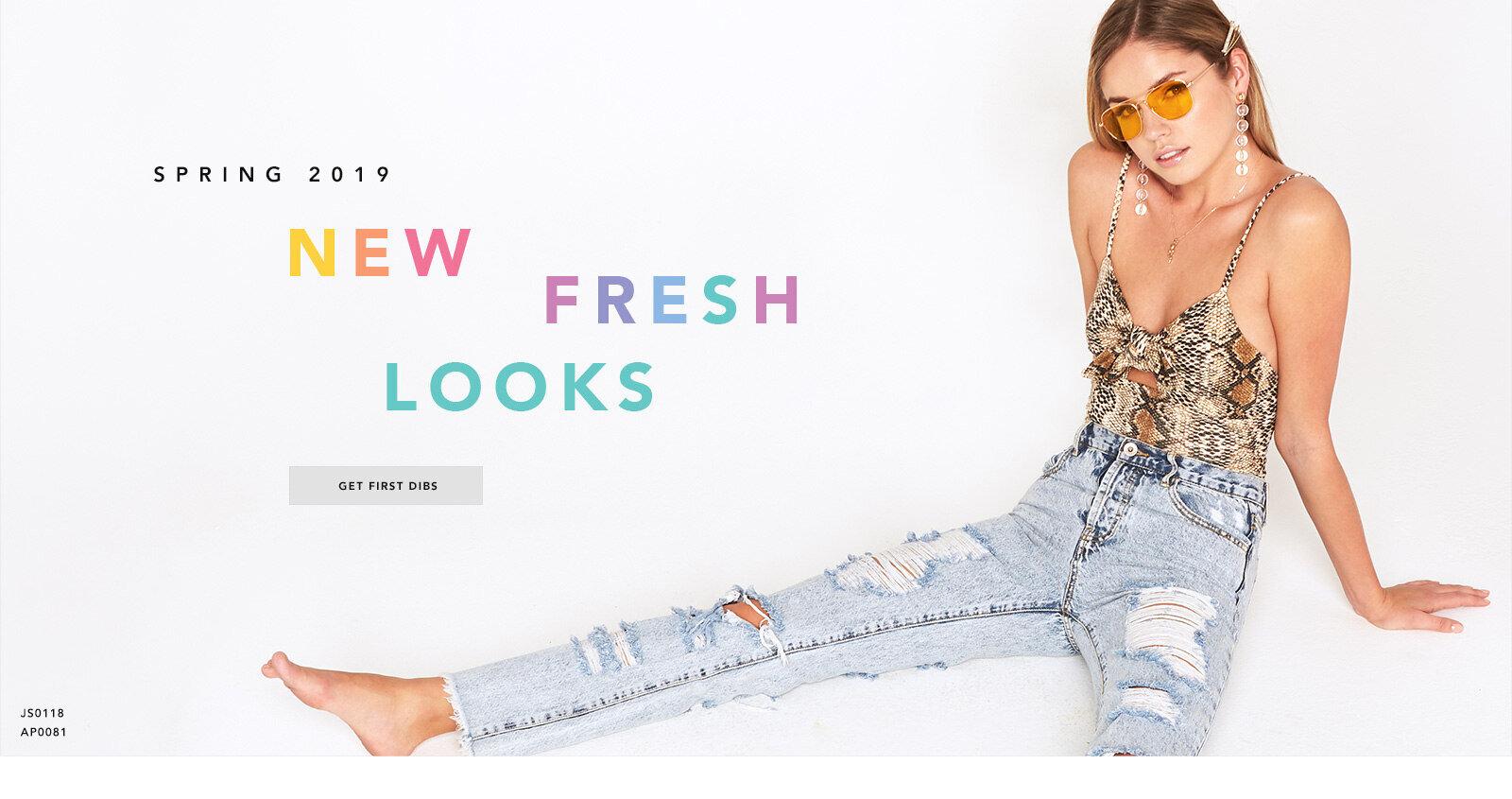 Spring 2019 - New Fresh Looks