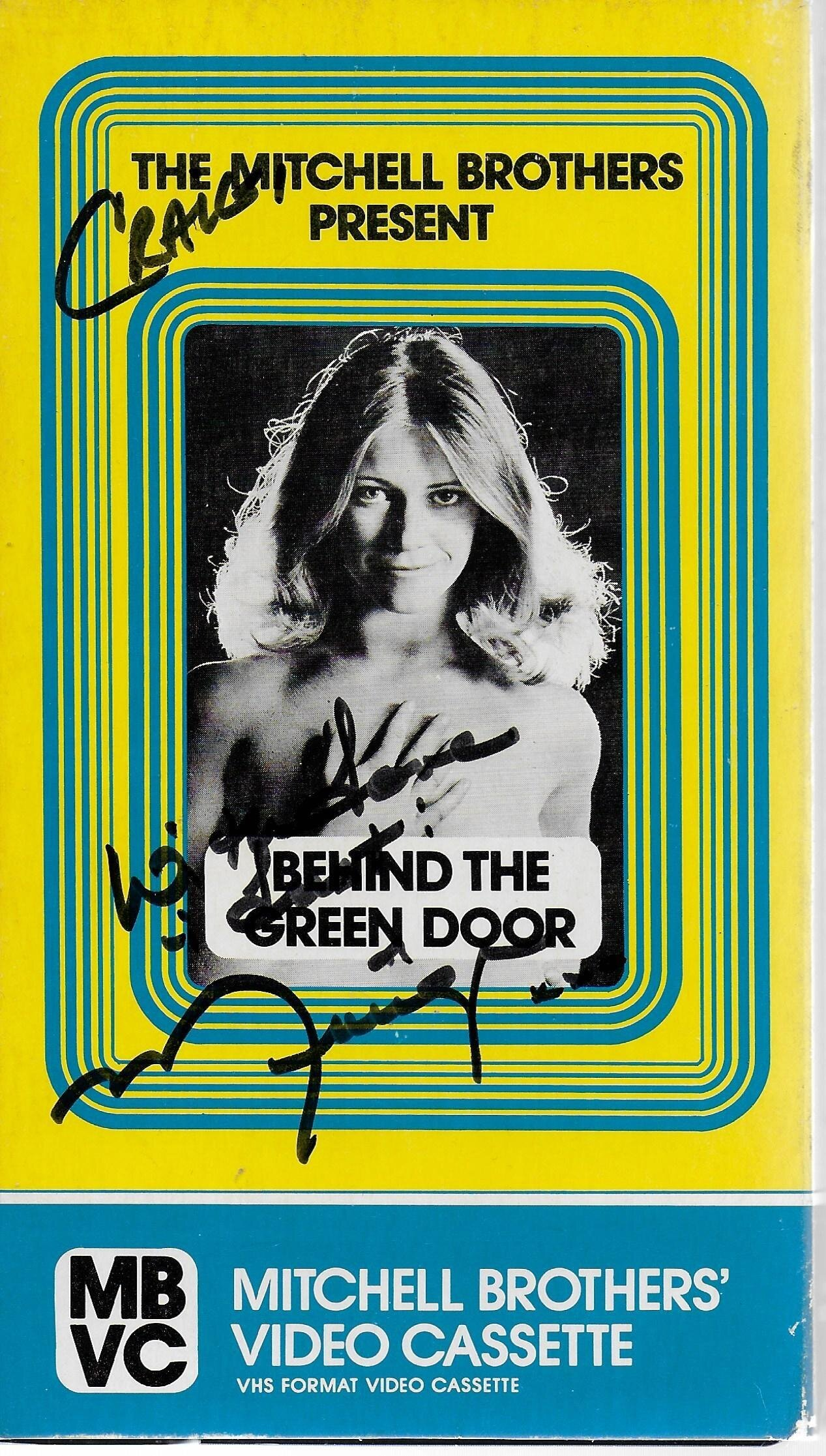 Behind The Green Door Pics behind the green door vhs signedmarilyn chambers