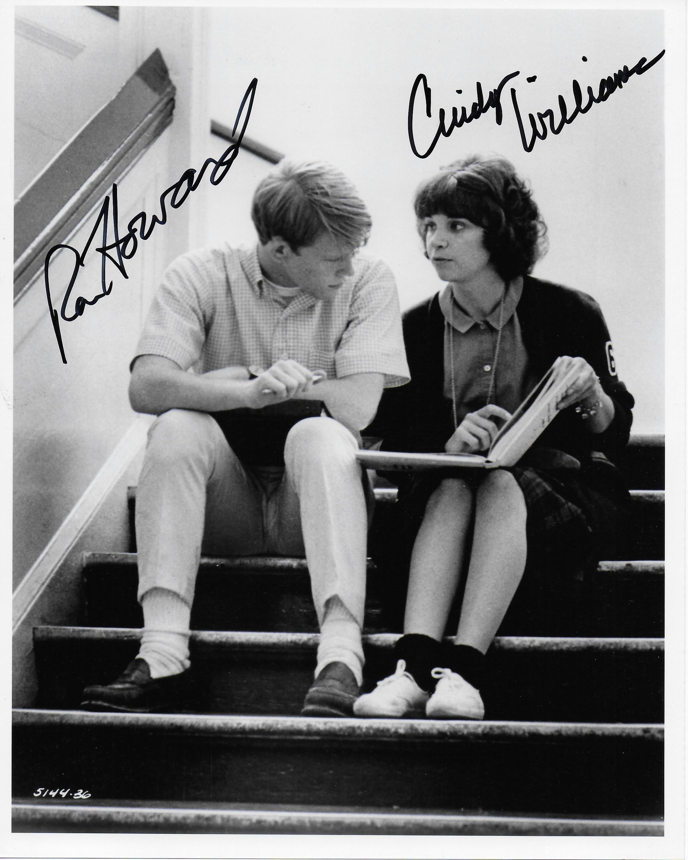 Ron Howard & Cindy Williams American Graffiti 8X10