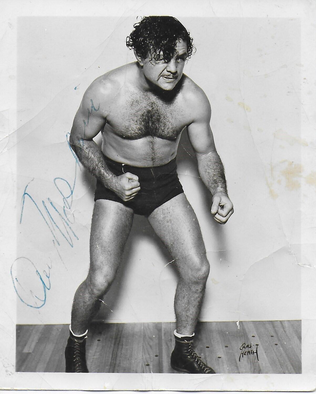 Danny McShane wrestler Vintage 3X5 photo #2