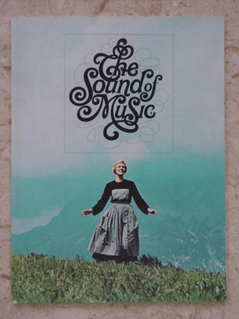Sound of Music Movie Program 1965