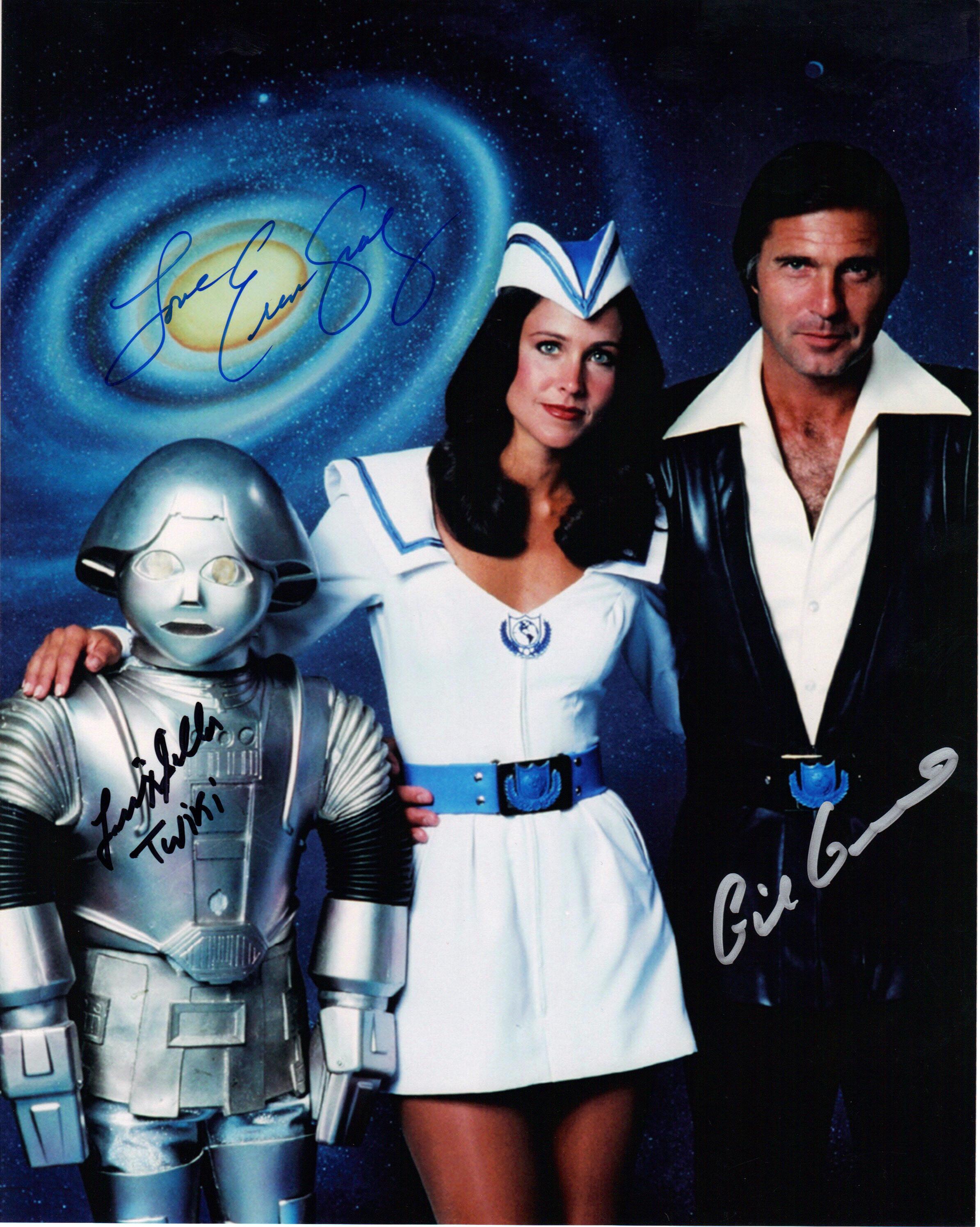 Buck Rogers cast of 3
