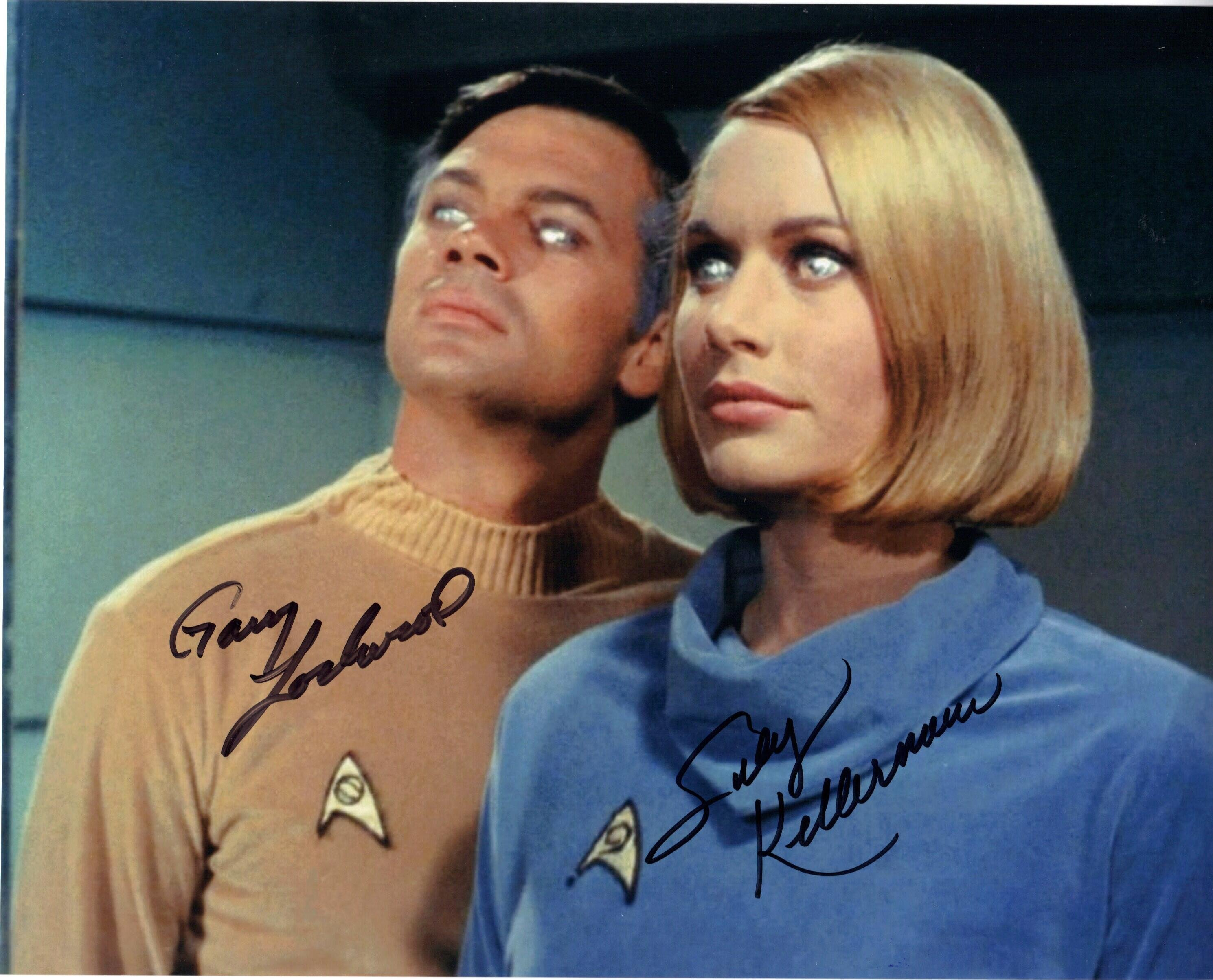 Gary Lockwood & Sally Kellerman Trek
