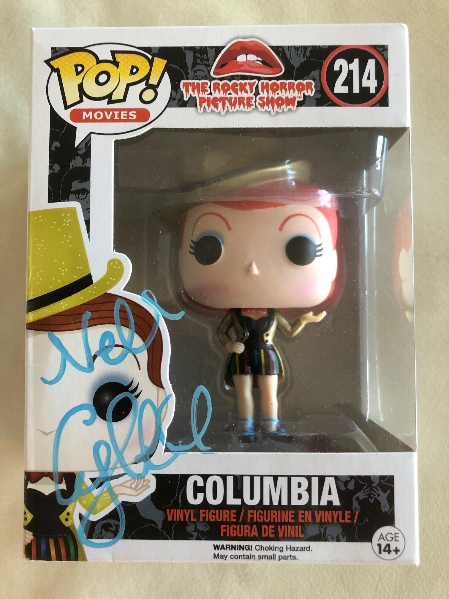 Rocky Horror Picture Show Magenta Funko Pop 213 Vinyl Figure Signed