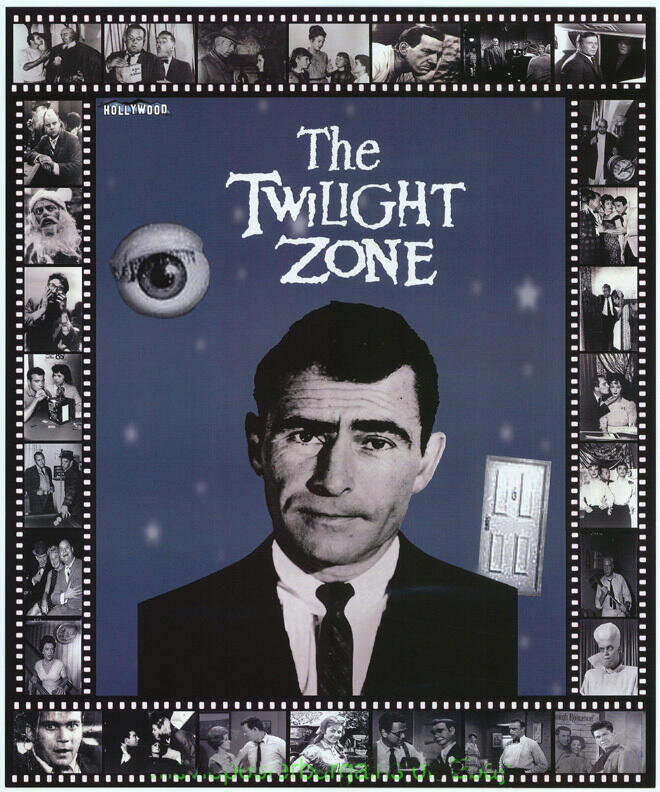 Twilight Zone Hollywoodshow Exclusive  Limited Edition poster 19 x 23