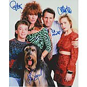 Married With Children cast of 4