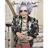Ann Morgan Guilbert The Nanny (Signature personalized to Dave)