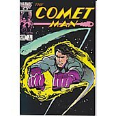 Comet Man comic book signed by Billy Mumy