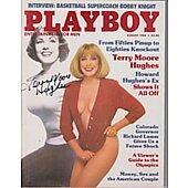 Terry Moore Playboy Magazine
