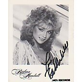 Barbara Mandrell signed in person 3X5 photo
