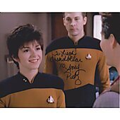 Amy Pietz Star Trek (Signature personalized to Liegh)