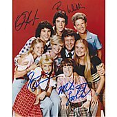 Brady Bunch cast of 4