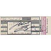 Liza Minnelli signed in person concert ticket