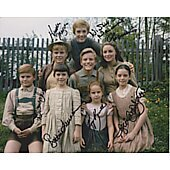 Sound of Music cast of 7 8X10 #7