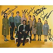 Sound of Music cast of 7 8X10 #12