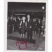 Zsa Zsa Gabor signed in person 3X5 photo