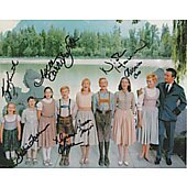 Sound Of Music exclusive 11x14 cast photo signed by 7 #2