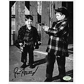 Ron Howard Andy Griffith Show w/ Ed Richard COA