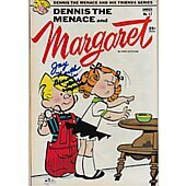 Dennis the Menace comic book signed by Jay North #2
