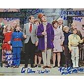 Willy Wonka cast of 5 11X14