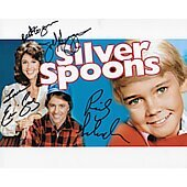 Silver Spoons cast of 3 8X10
