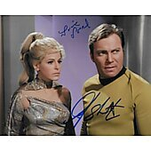 William Shatner and Louise Sorel Star Trek TOS 8X10