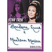 BarBara Luna autographed Star Trek trading card