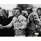 Burt Reynolds (1936-2018) Cannonball Run w/ Ed Richard COA 8X10 #2