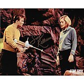 William Shatner and Sally Kellerman Star Trek TOS 8X10 #2