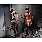 Nichelle Nichols & Barbara Luna Star Trek