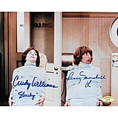 Cindy Williams & Penny Marshall Laverne & Shirley w/ Ed Richard COA 4