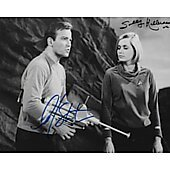 William Shatner and Sally Kellerman Star Trek TOS 8X10 #3