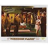 Leslie Nielsen Forbidden Planet w/ Ed Richard COA