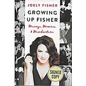 Growing Up Fisher BOOK signed by author Joely Fisher