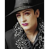 Boy George of Culture Club 10