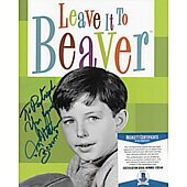 Jerry Mathers Leave it to Beaver 8X10 (personalized Patrick) w/ Beckett COA