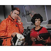 Nichelle Nichols & Roger Perry Star Trek TOS 8X10
