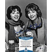 Penny Marshall / Cindy Williams Laverne & Shirley 4  w/ Beckett COA