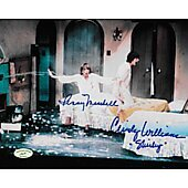 Cindy Williams & Penny Marshall Laverne & Shirley w/ Ed Richard COA 8
