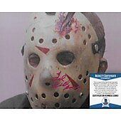 Ted White Friday the 13th 8X10 w/Beckett COA
