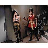 Nichelle Nichols & BarBara Luna Star Trek TOS 8X10