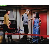 William Shatner & France Nuyen Star Trek TOS