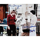 Cindy Williams & Penny Marshall Laverne & Shirley w/ Ed Richard COA 9