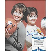 Penny Marshall / Cindy Williams Laverne & Shirley 6 w/ Beckett COA