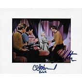 William Shatner & Clint Howard Star Trek TOS