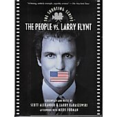 The People vs. Larry Flynt shooting script BOOK signed by Milo Forman (Signature personalized to Craig)