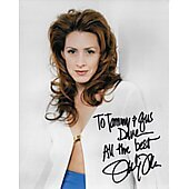 Joely Fisher (Signature personalized to Tammy and Gus)
