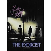 The Exorcist: Directors Cut - Press Kit signed by Linda Blair