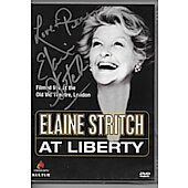 Elaine Stritch at Liberty DVD signed by Elaine Stritch (1925-2014)