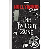 Limited Edition Hollywood Show VIP Pass Twilight Zone